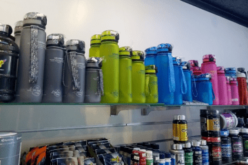 Спортивные бутылки для воды UZSPACE в «АтлетМаркет»