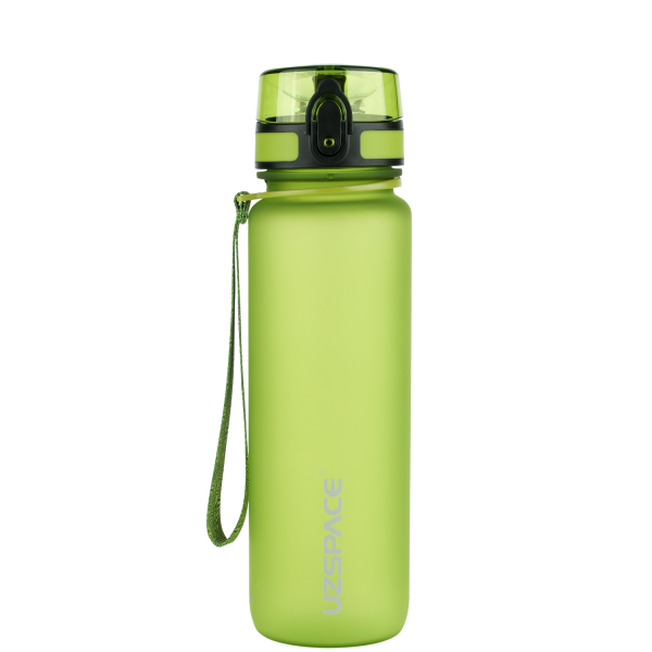 Бутылка для воды в школу UZSPACE Colorful Frosted-Tritan 500мл 3026