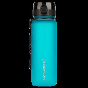 Многоразовая бутылка для воды UZSPACE Colorful Frosted-Tritan 800мл 3053 - Ярко-голубой