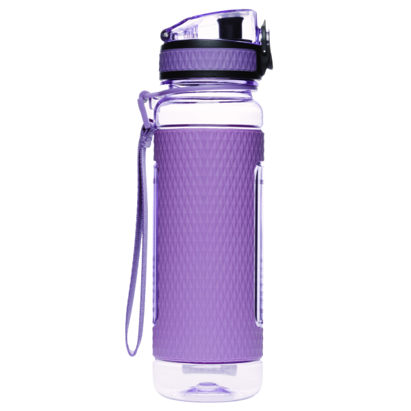 Экологическая бутылка для воды Uzspace Diamond-Tritan 450мл 5044